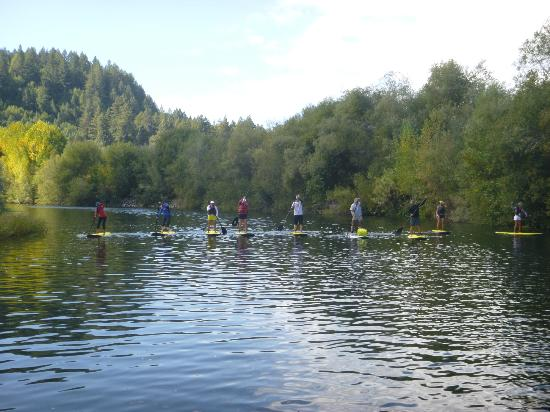 Rubicon Adventures: SUP 101 on Russian River