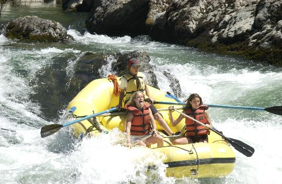 Rubicon Adventures: Trinity River Rapids