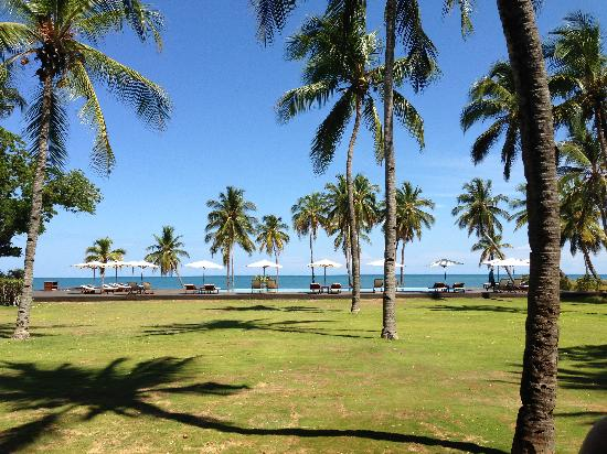 Anjajavy L'Hotel : The view from breakfast