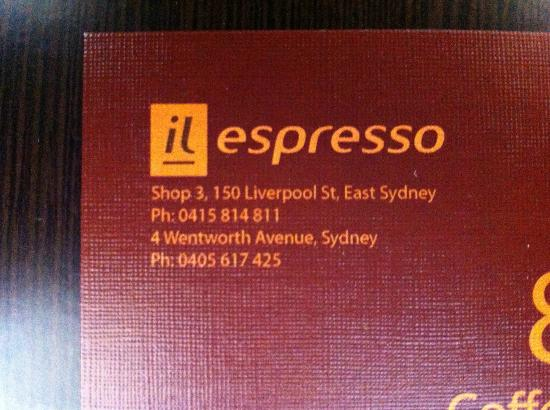 Pullman Sydney Hyde Park: FABulous coffee just around the corner from The Pullman 