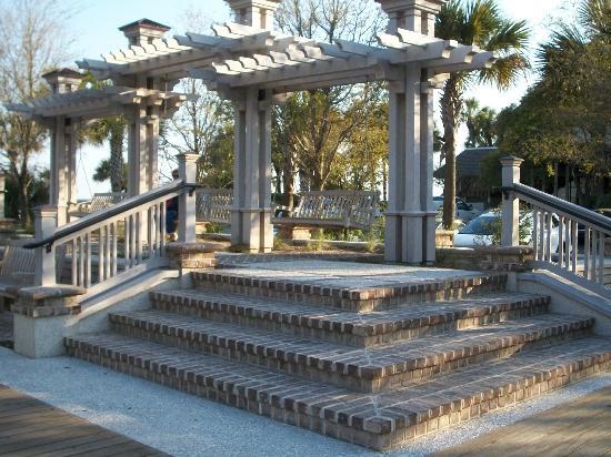 Хилтон-Хед, Южная Каролина: Boardwalk area on Hilton Head Beach