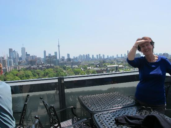 Park Hyatt Toronto: View from the rooftop bar