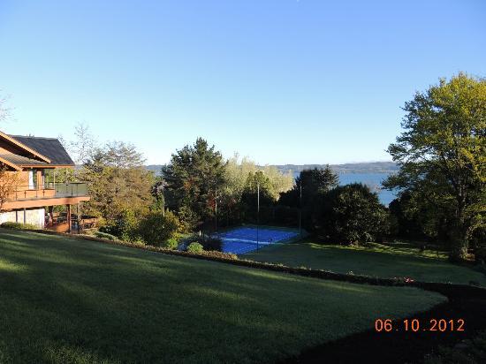 El Parque Hotel & Cabins: quadra de tenis