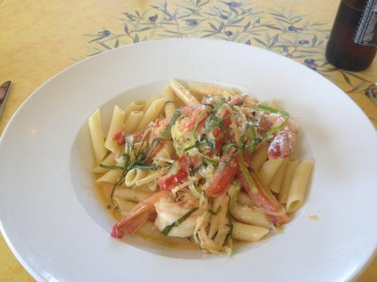 My Place by the Sea: Lobster & Shrimp & pasta