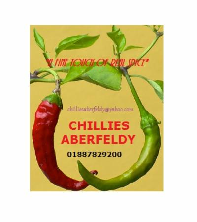 Аберфелди, UK: CHILLIES ABERFELDY