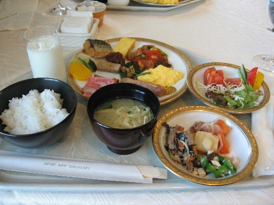 Hotel New Nagasaki : 朝食