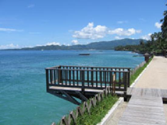 Rama Candidasa Resort & Spa: The Pier