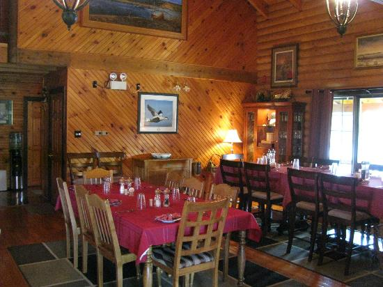 Tuckamore Lodge: Dining Room