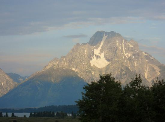 Jackson Lake Lodge: Mount Moran