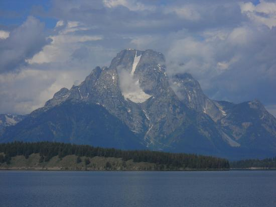 Jackson Lake Lodge: Mount Moran and Skillet Glacier