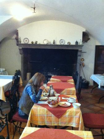 Domaine St Roch: Pleasant breakfast room