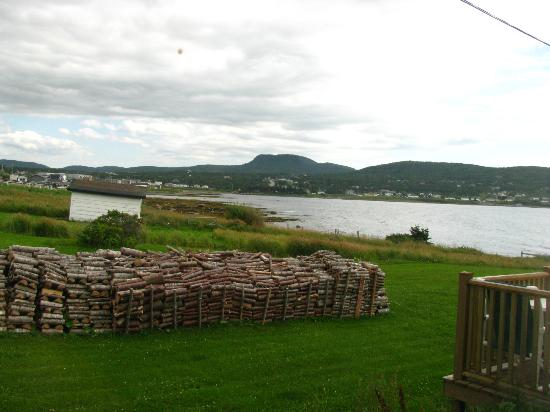 Candlelight B & B: View looking into Rocky Harbour