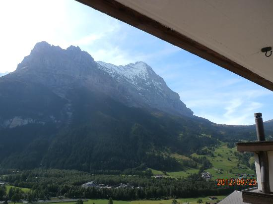 Hotel Spinne: The Eiger massif