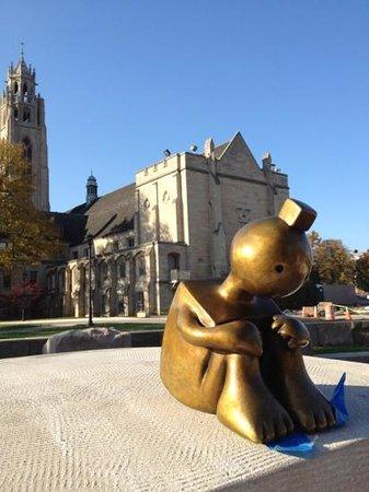 Centennial Sculpture Park at the grounds of the Memorial Art Gallery