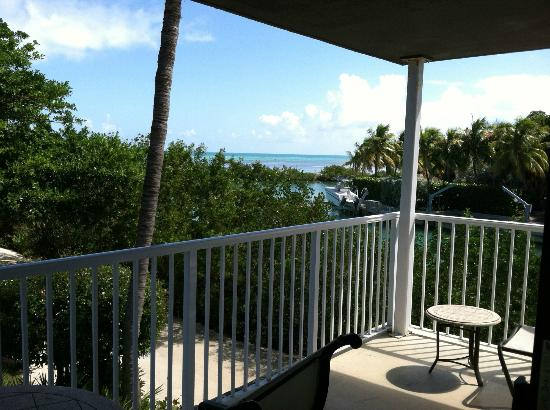 Hawks Cay Resort: View from the water view king room