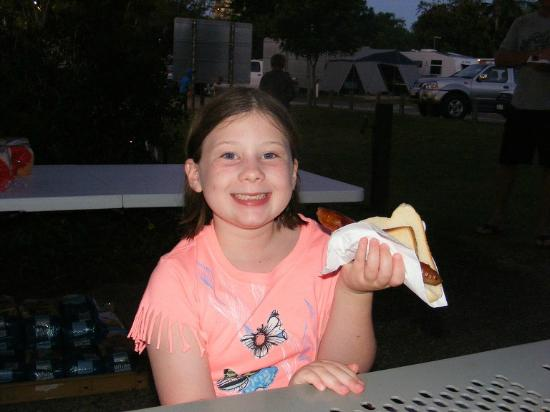 Noosa River Holiday Park : and our sausages