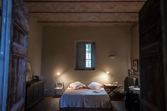 Pieve a Pava: Inside our room