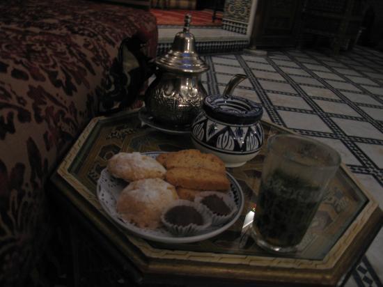 Riad La Perle De La Medina: おもてなし:ミントティーとモロカンスイート