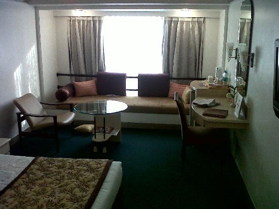Hotel Kohinoor Continental: Room view