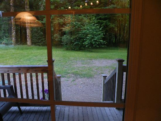 The Cabins at Beaver Creek: View from Cabin #1