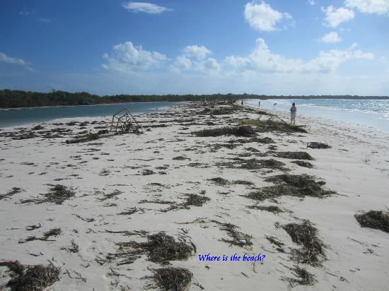 Iberostar Ensenachos: Megano Beach after the storm