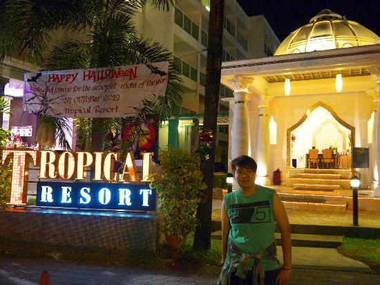 Chanalai Romantica Resort: Entrance of the hotel
