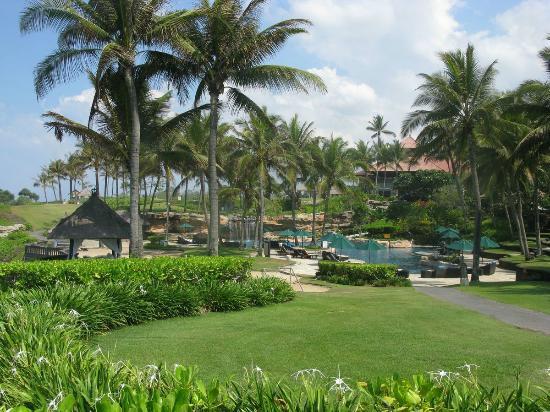 Pan Pacific Nirwana Bali Resort: Pool area