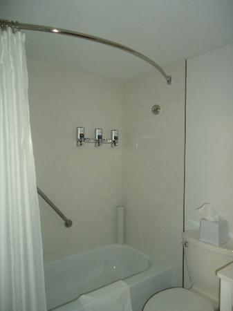 Four Points by Sheraton Kamloops: Shampoo & conditioner in bathtub