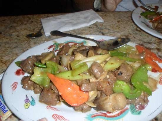 Lucky Dragon: Hong Kong style steak with veggies