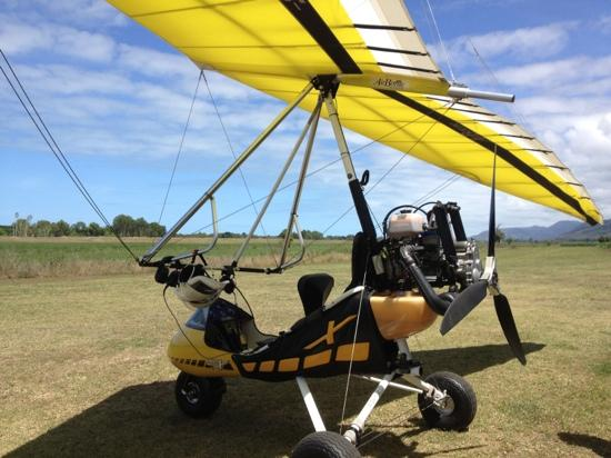 Tandem Microlighting Over The Delta Of Daintree River