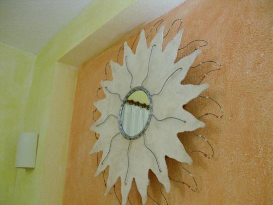 Allegro Playacar: sur le mur de la chambre