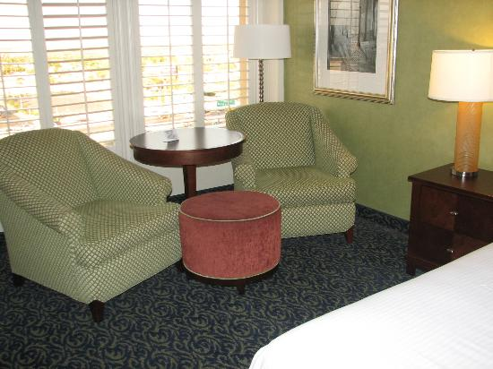 Main Street Station Hotel & Casino: Sitting Area