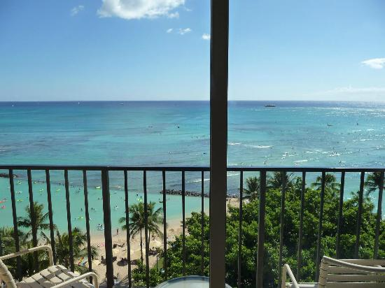 Aston Waikiki Beachside Hotel: View