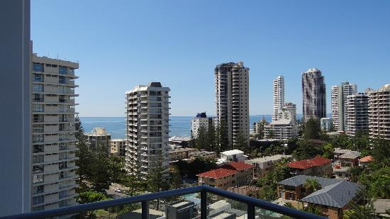 Artique Surfers Paradise: ocean view