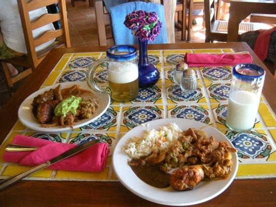 Xel-Ha: our lunch at Mexican restaurant!)