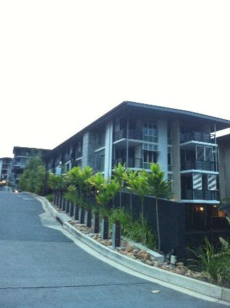Peppers Noosa Resort and Villas: Part of resort from Little Hastings St