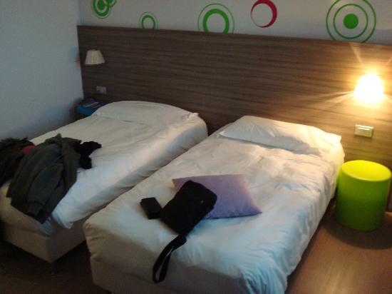 Mercure Venezia Marghera hotel: les lits jumeaux