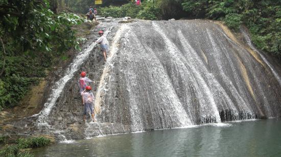 Gudong Waterfall : 「人望高處」 決戰「水向低流」