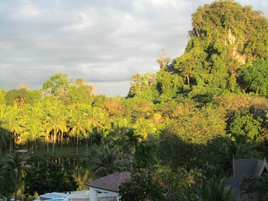 Maritime Park & Spa Resort: Aussicht vom Balkon unserer Suite