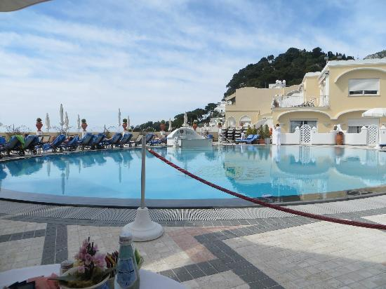 Grand Hotel Quisisana: Pool area!