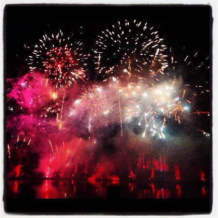 Alton Towers Hotel: Amazing fireworks