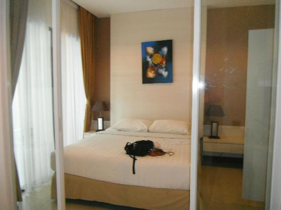 ‪‪Umalas Hotel and Residence‬: Deluxe Bedroom
