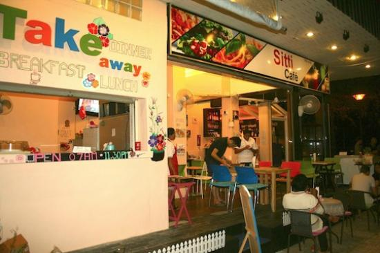 Sitti Cafe and Restaurant : Front off Sitti Cafe (Take away)