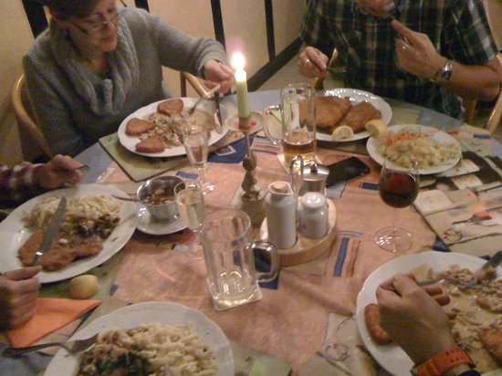 Busnauer Hof im Wildpfaldstuble : Our meal