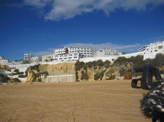 Rocamar Exclusive Hotel & Spa: Hotel Rocamar from Beach