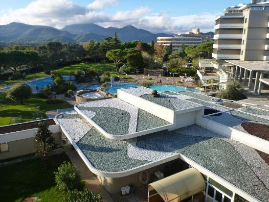 Terme di Galzignano - Hotel Splendid: complesso di hotel e piscine