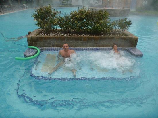 """Terme di Galzignano - Hotel Splendid : """"lettini"""" idromassaggio"""