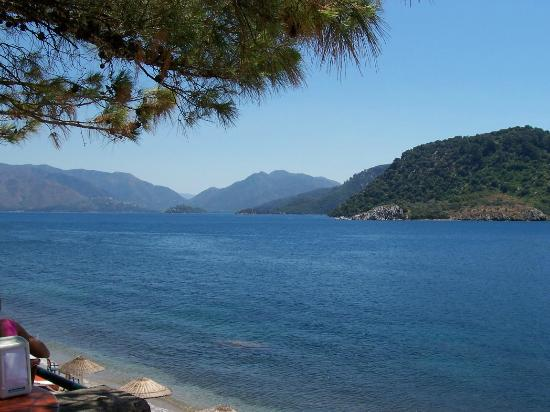 View from Cafe Del Mar looking towards Marmaris