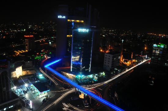 โรงแรมฮิลตัน เบรุท ฮับทูร์ แกรนด์: view from room 17th floor
