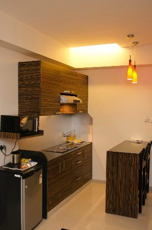 The Haven Serviced Residences: Kitchenette